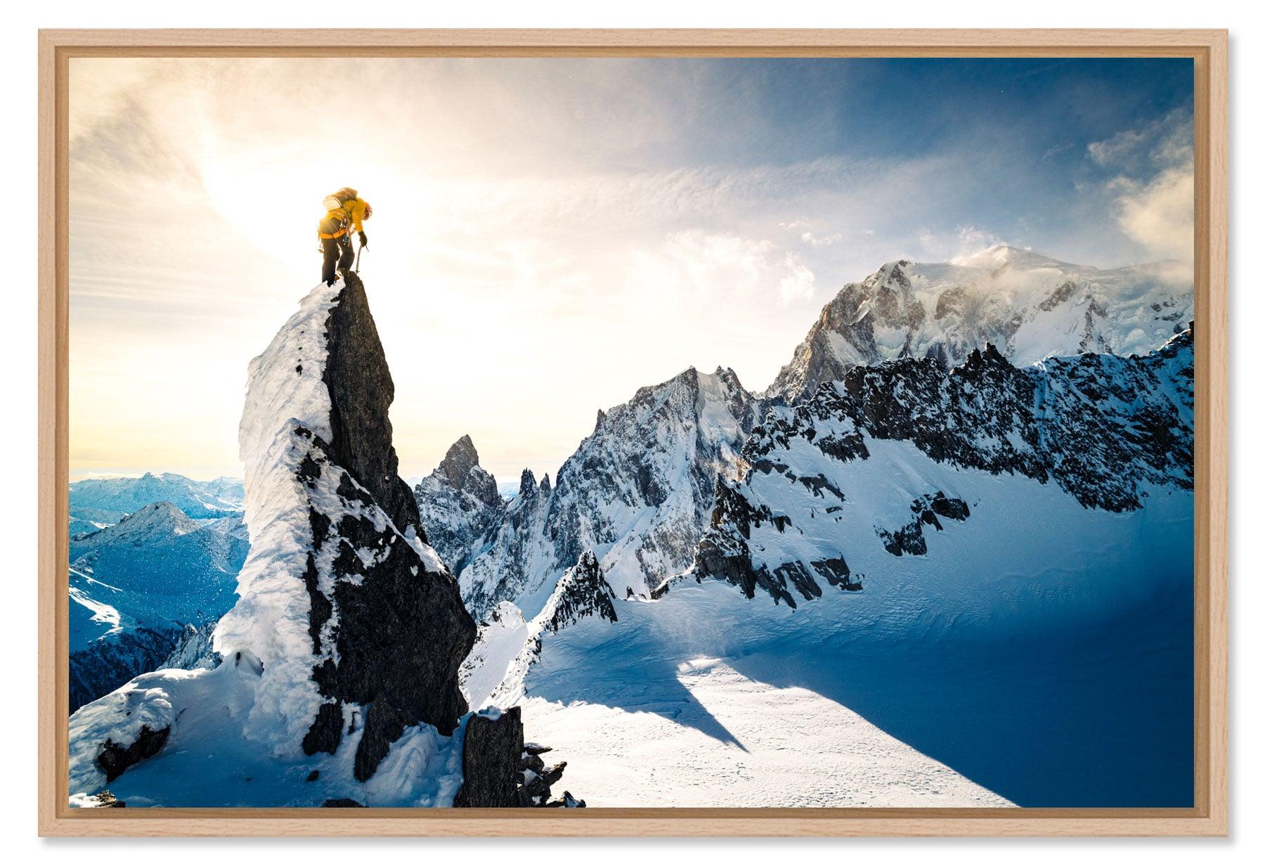 Tirage photo d'alpinisme et d'escalade