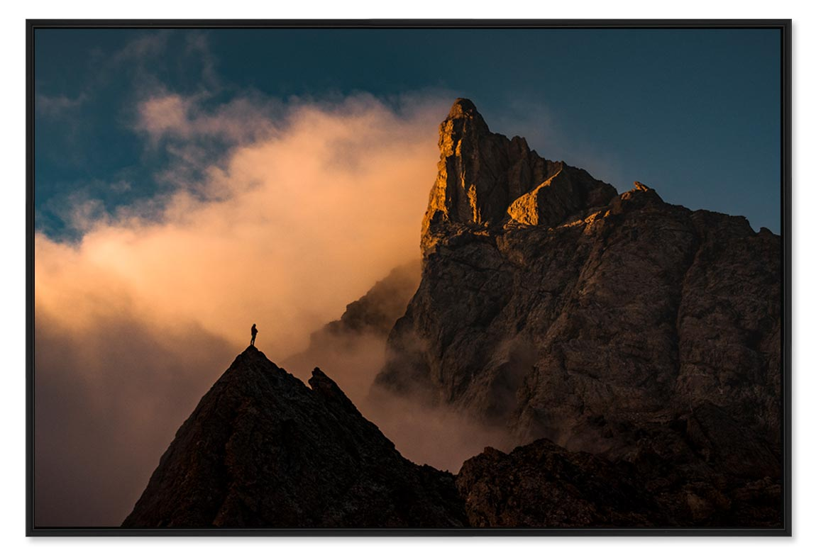 Photos d'aventures outdoor et sports de montagne, tirages photo montagne