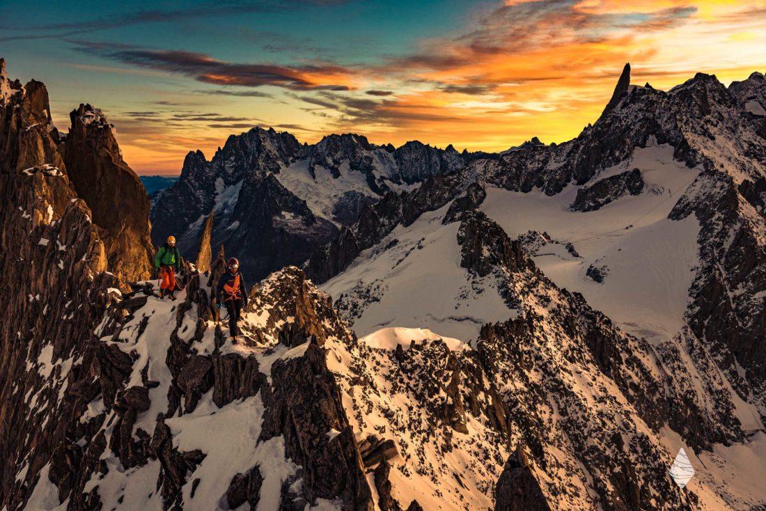 Photo d'Alpinisme dans le Massif du Mont-Blanc