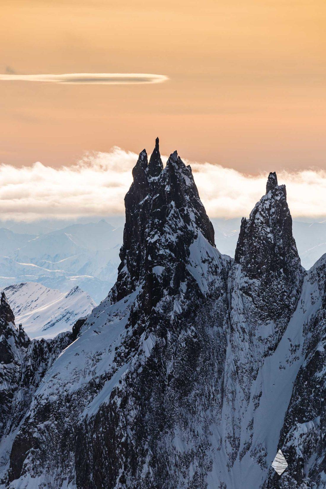 Photos des Dames Anglaises dans le Massif du Mont-Blanc