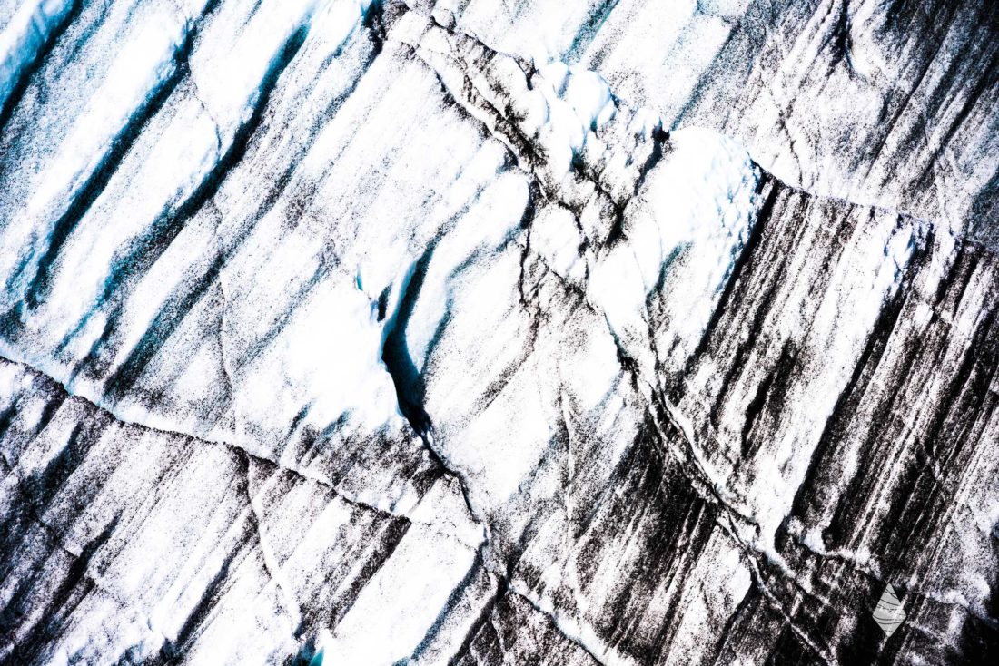 Photo des glaces de l'Inlandsis