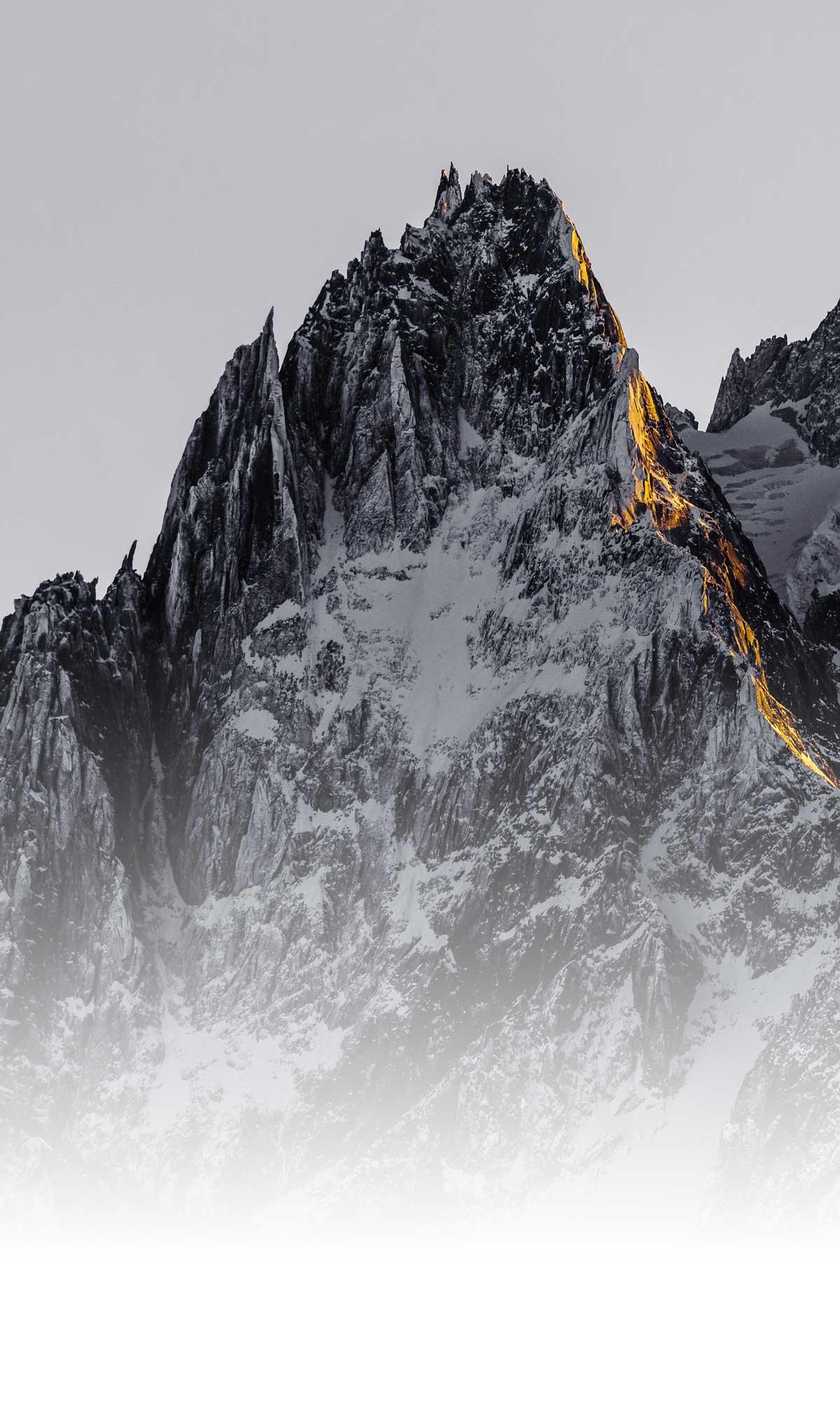 Photo paysage de montagne disponible en tirage d'art ou tableau photo