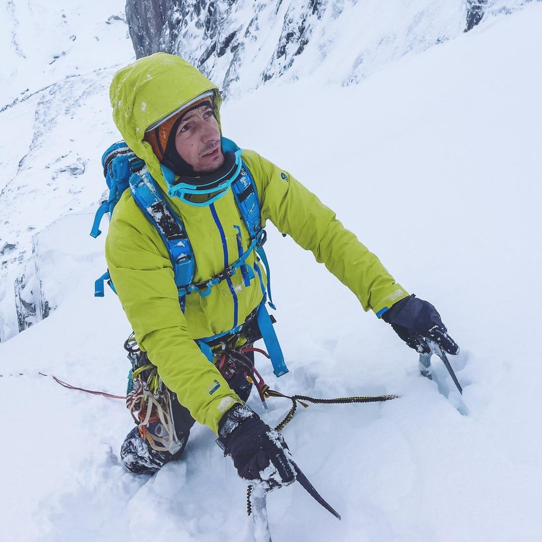Portrait du Photographe de montagne et d'aventure Marc Daviet
