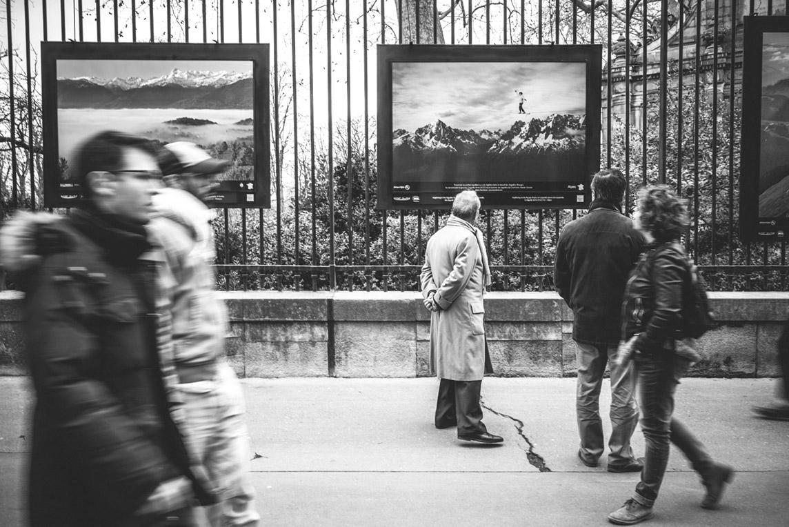 Exposition Montagnes de France, Jardins du Luxembourg à Paris